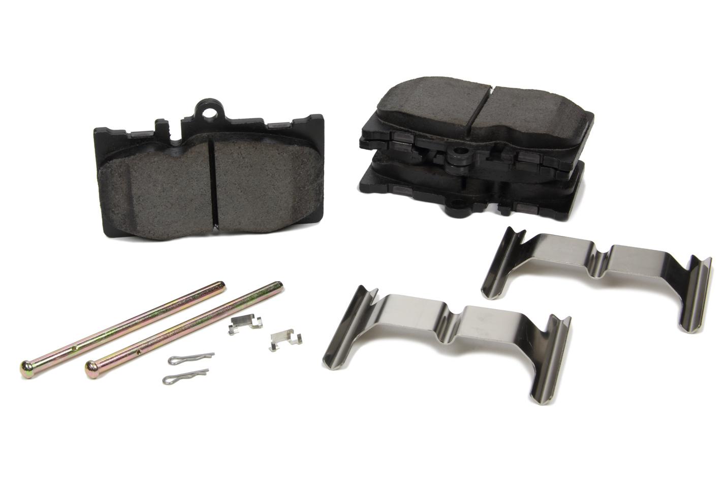 Centric Brake Parts 105.087 Brake Pads, Posi-Quiet, Ceramic, Hardware Included, Lexus LS430 2001-06, Set of 4