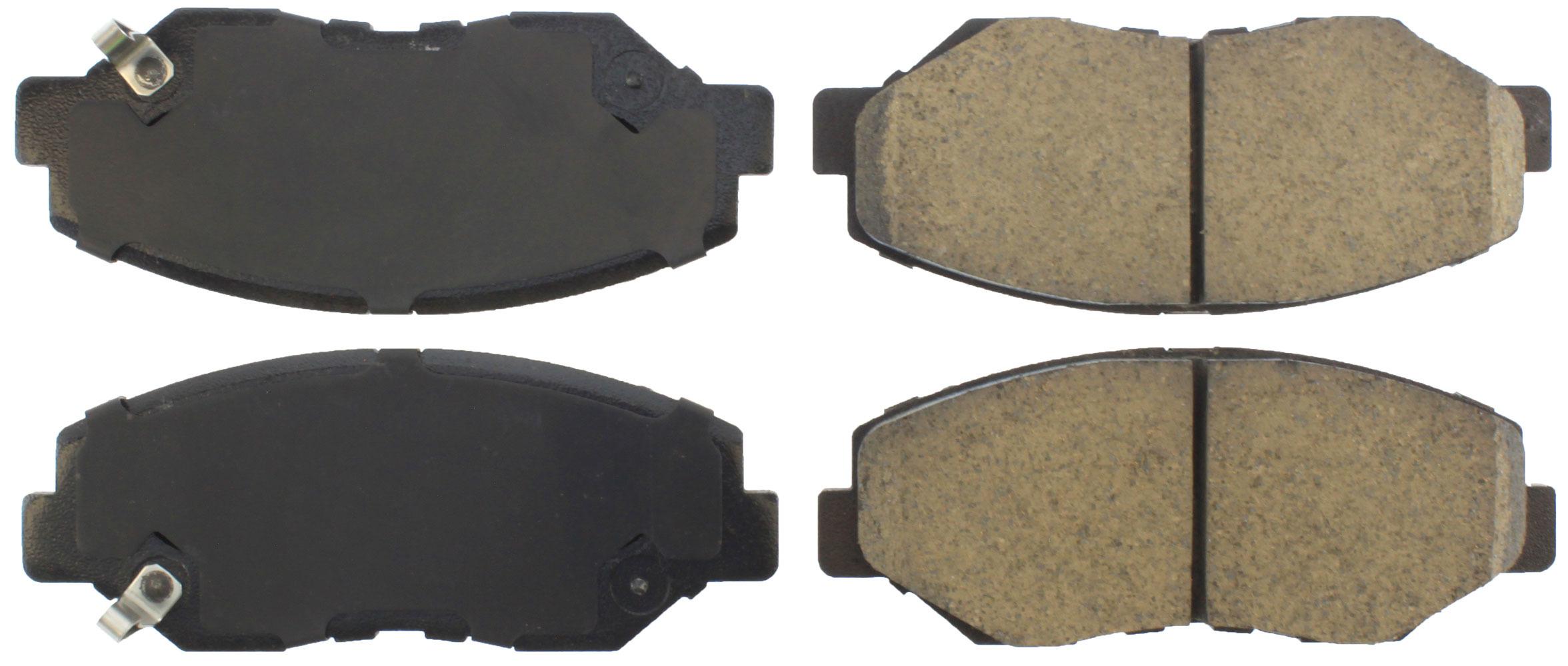 Centric Brake Parts 105.09140 Brake Pads, Posi-Quiet, Ceramic, Acura / Honda 2013-17, Set of 4