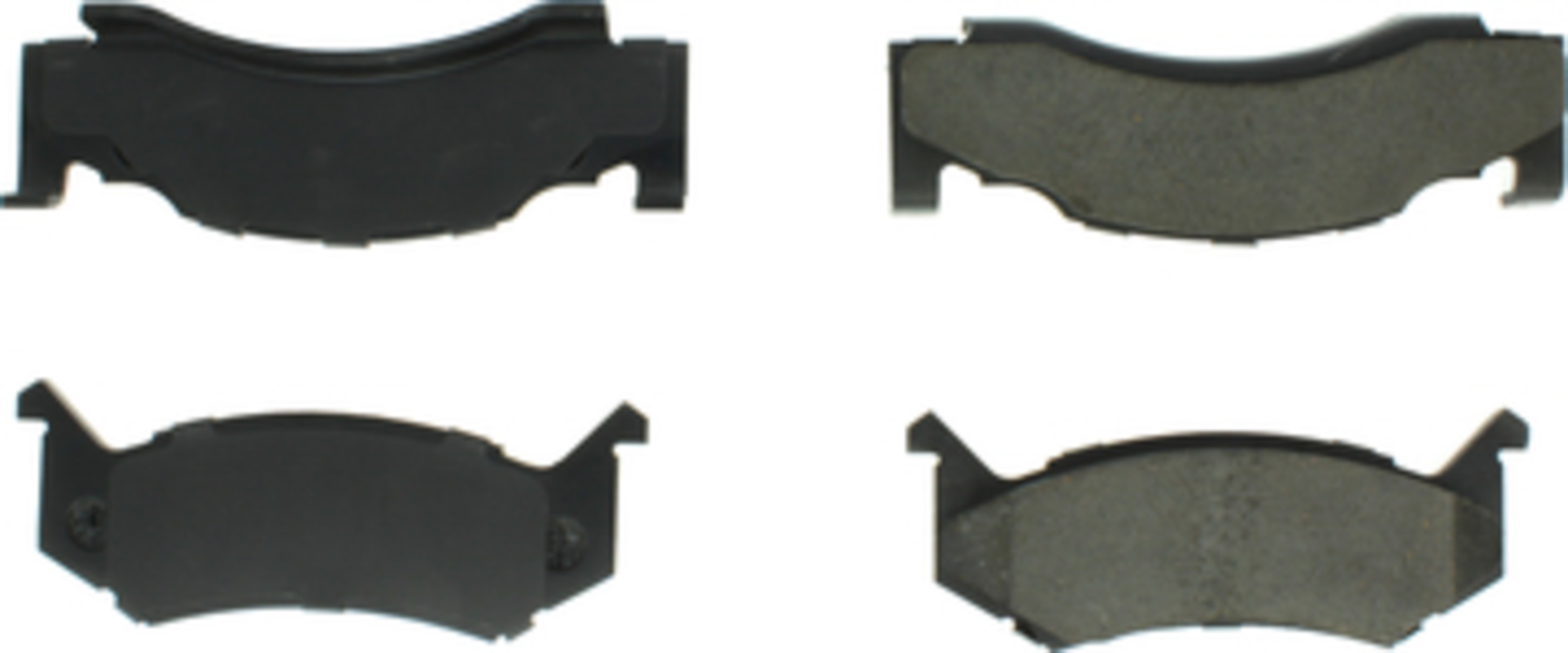 Centric Brake Parts 106.01230 Brake Pads, Posi-Quiet, Semi-Metallic, Shims / Hardware, Dodge Fullsize SUV 1982-97
