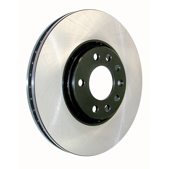 Centric Brake Parts 120.44172 Brake Rotor, Premium, 10.04 in OD, 1.940 in Thick, 5 x 100 mm Bolt Pattern, Iron, Natural, Each
