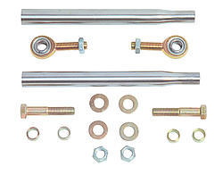 Chassis Engineering 2700 Tie Rod End Tube Kit, Weld-On, 1/2 in Rod Ends, Hardware / Rod Ends / Tubes, Steel, Natural, Kit