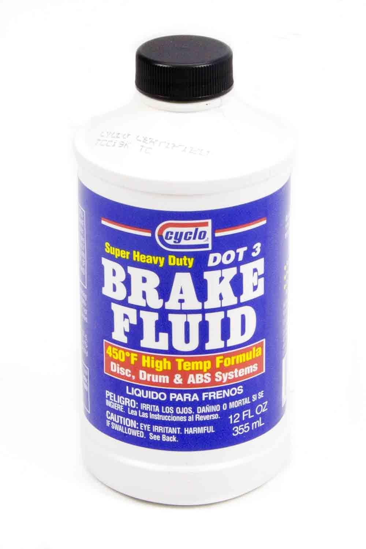 12 Oz. Brake Fluid