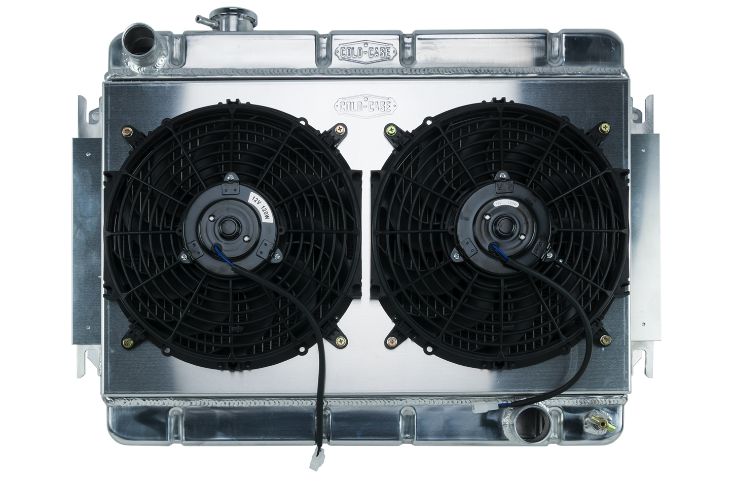 66-67 Chevelle Radiator & Dual 12in Fan Kit MT