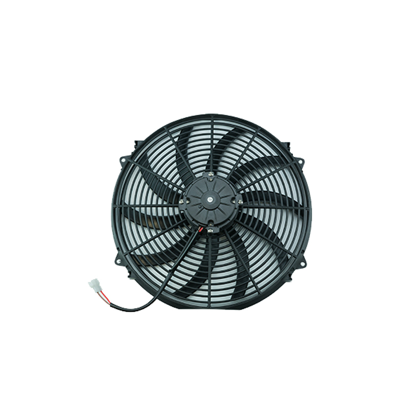 Cold Case Radiators FAN16 Electric Cooling Fan, 16 in Fan, Push / Pull, 2500 CFM, 12V, Curve Blade, 18 x 18 in, 4 in Thick, Plastic, Each