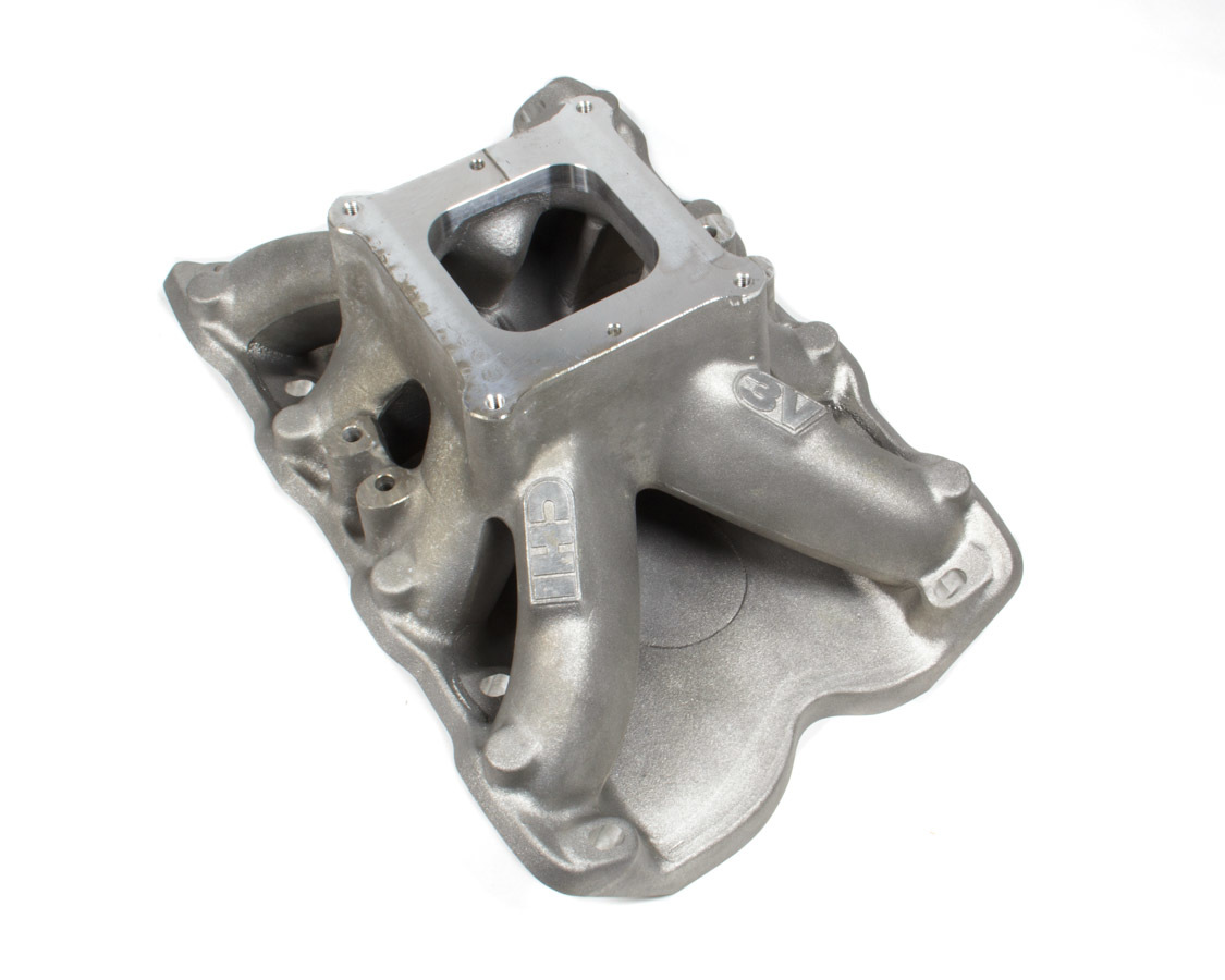 Cylinder Head Innovations INT3V208/3H9.2C Intake Manifold, 3V, Square Bore, 9.200 in Deck Height, Aluminum, Natural, Ford Cleveland / Modified, Each