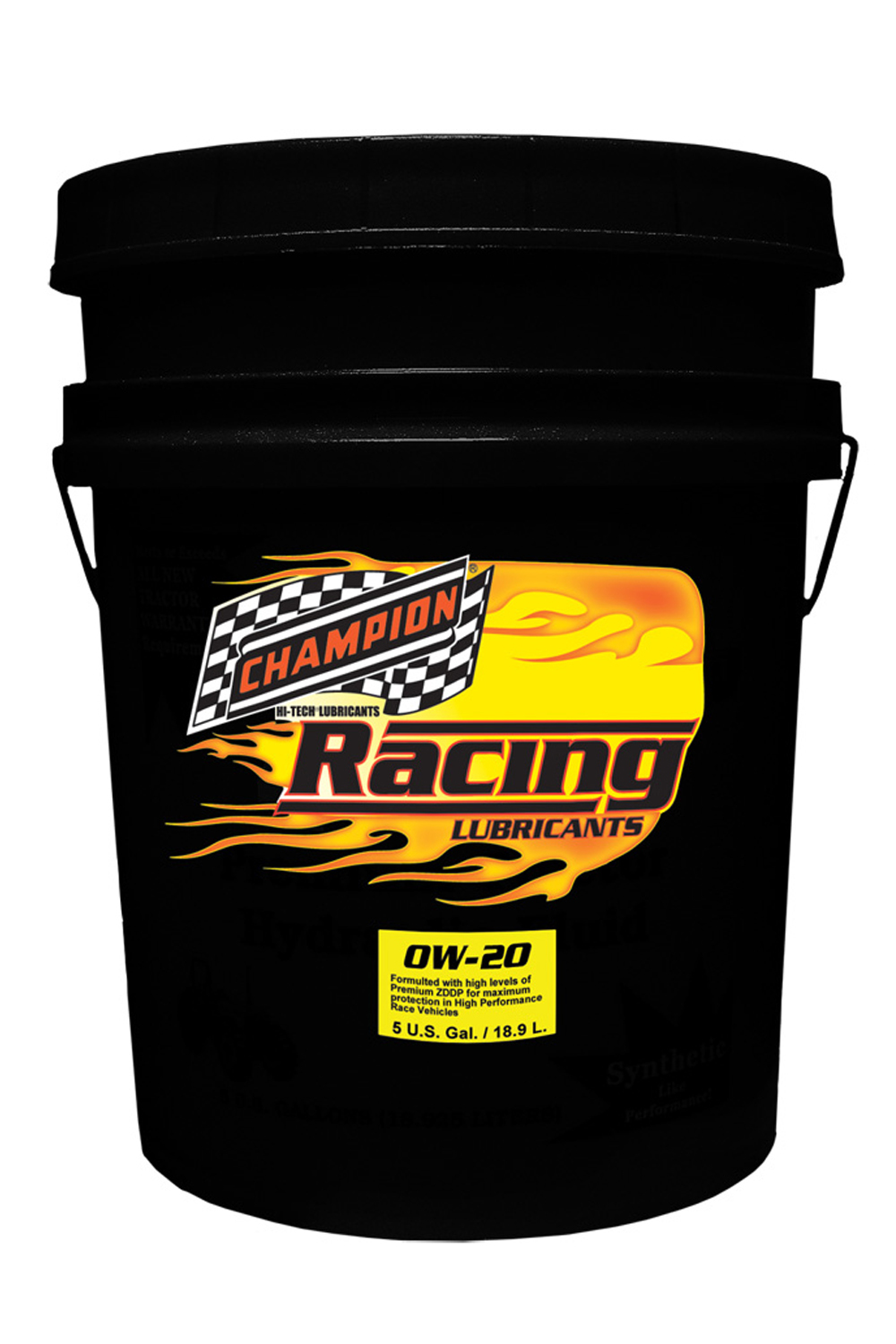 0w20 Synthetic Racing Oil 5 Gallon