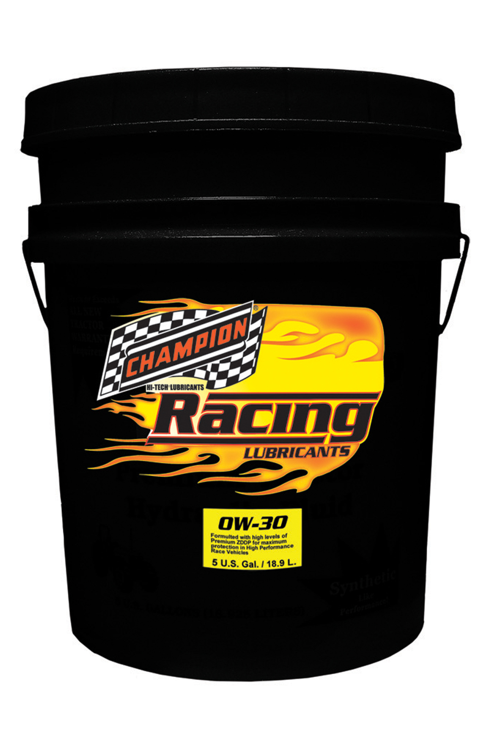 0w30 Synthetic Racing Oil 5 Gallon