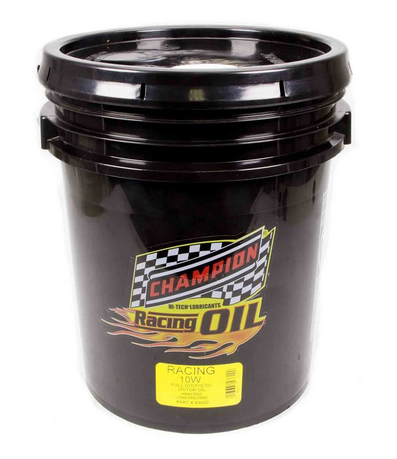 10w Synthetic Racing Oil 5 Gallon