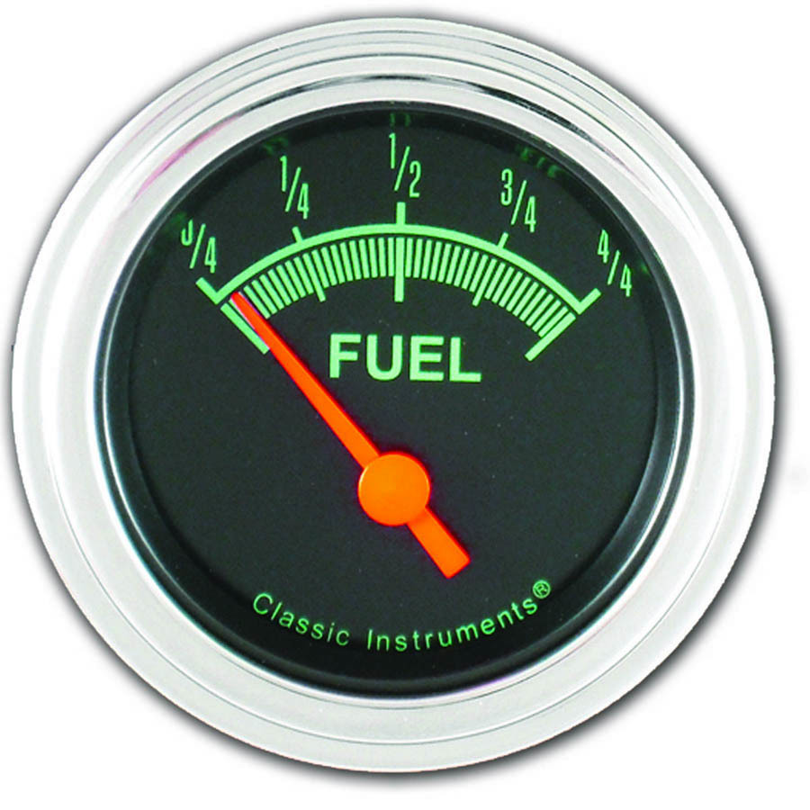 G-Stock Series Fuel Gauge 2-1/8in Electrical