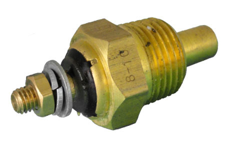 Classic Instruments SN24 Temperature Sending Unit, Electric, 3/8-18 in NPT Male Thread, Each