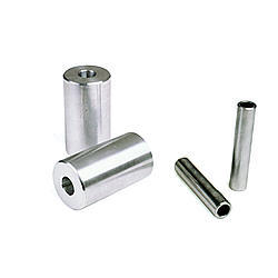 Competition Engineering 2023 Spring Shackle Bushing, Rear, 1-5/8 in OD x 3-1/4 in long, 9/16 in Bolt, Aluminum, Natural, GM F-Body / X-Body, Pair