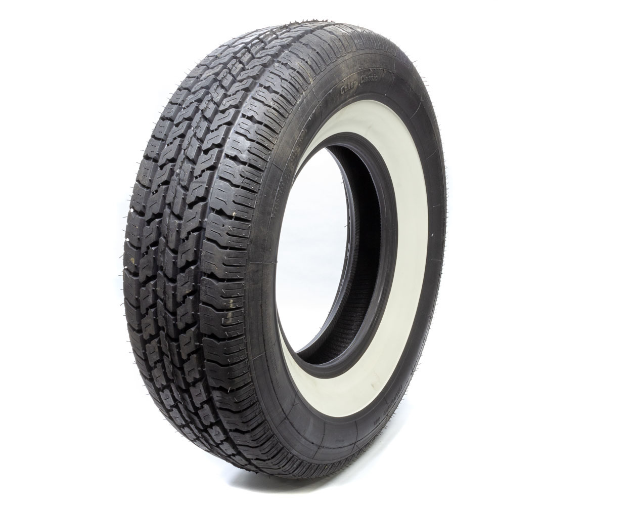 P225/75R14 Coker Tire 2-1/2in White Wall