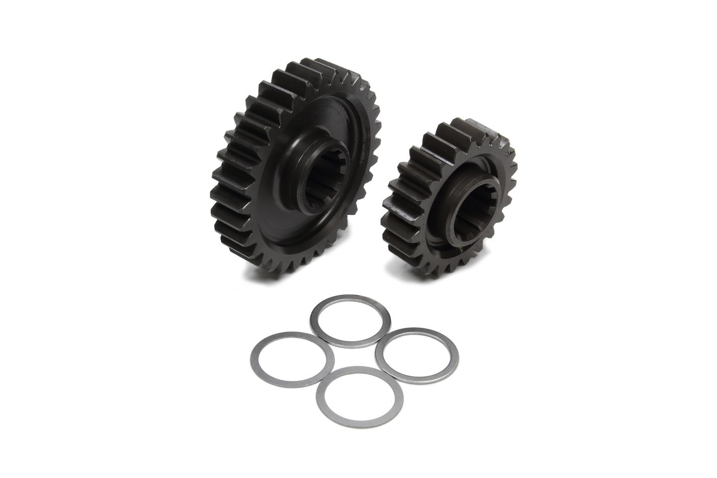 Coleman Machine 207-14 Quick Change Gear Set, Pro-Lite, Set 14, 10 Spline, 4.11 Ratios 5.72 / 2.95, 4.86 Ratios 6.76 / 3.50, Steel, Each