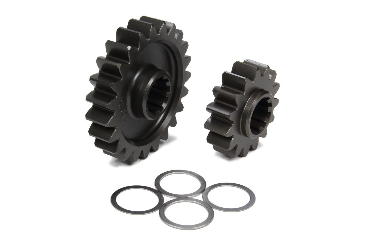 Coleman Machine 207-21C Quick Change Gear Set, Pro-Lite, Set 21C, 10 Spline, 4.11 Ratios 6.30 / 2.68, 4.86 Ratios 7.45 / 3.17, Steel, Each