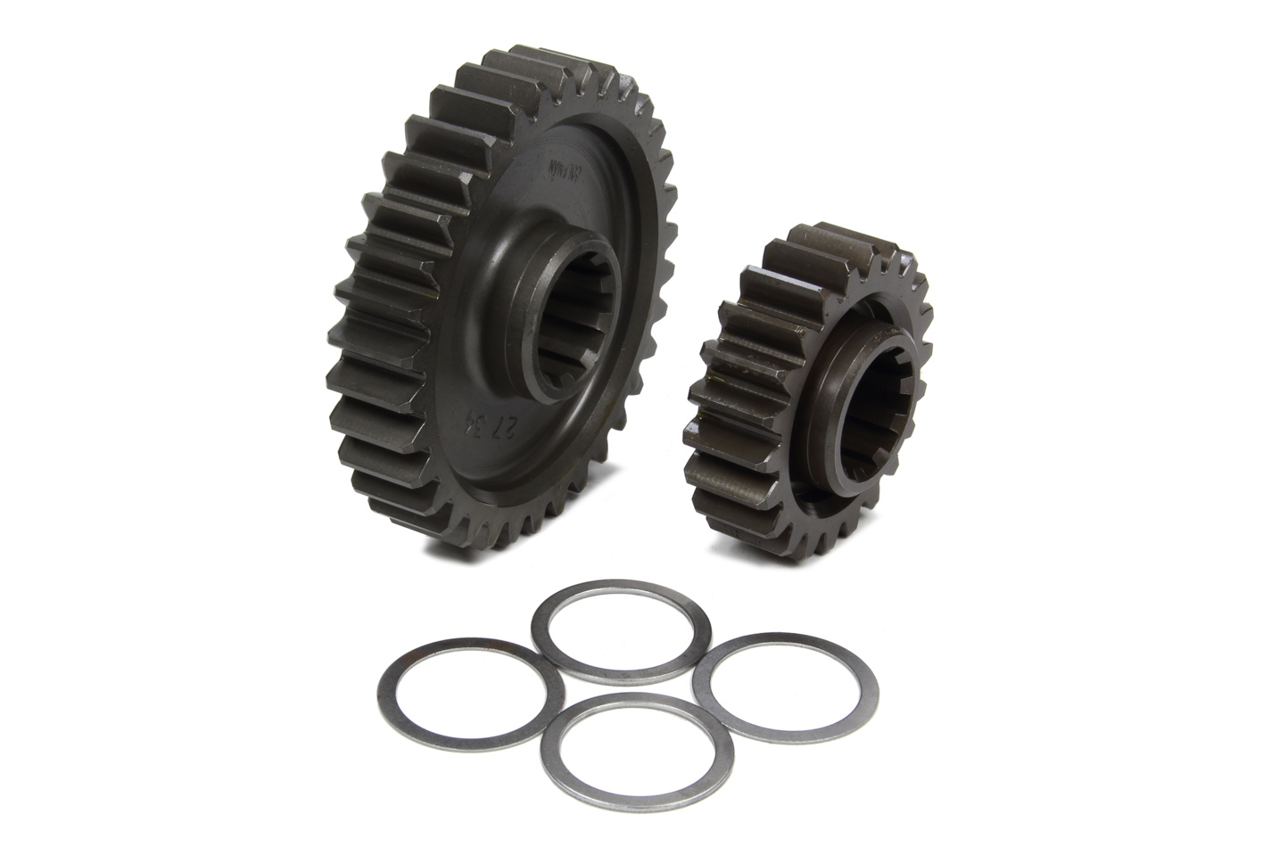 Coleman Machine 207-27 Quick Change Gear Set, Pro-Lite, Set 27, 10 Spline, 4.11 Ratio 6.35 / 2.66, 4.86 Ratio 7.52 / 3.15, Steel, Each