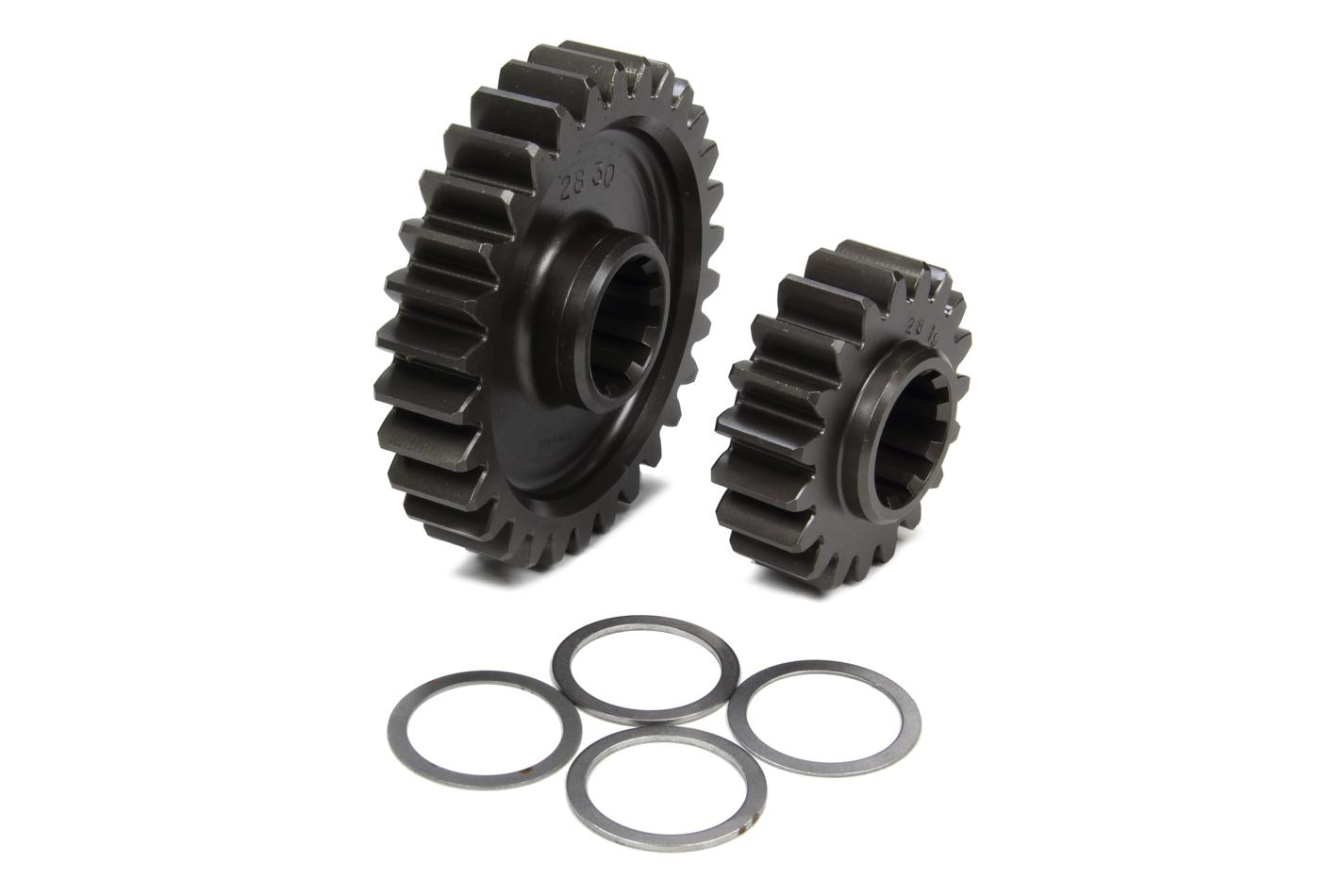 Coleman Machine 207-28 Quick Change Gear Set, Pro-Lite, Set 28, 10 Spline, 4.11 Ratio 6.49 / 2.60, 4.86 Ratio 7.68 / 3.08, Steel, Each