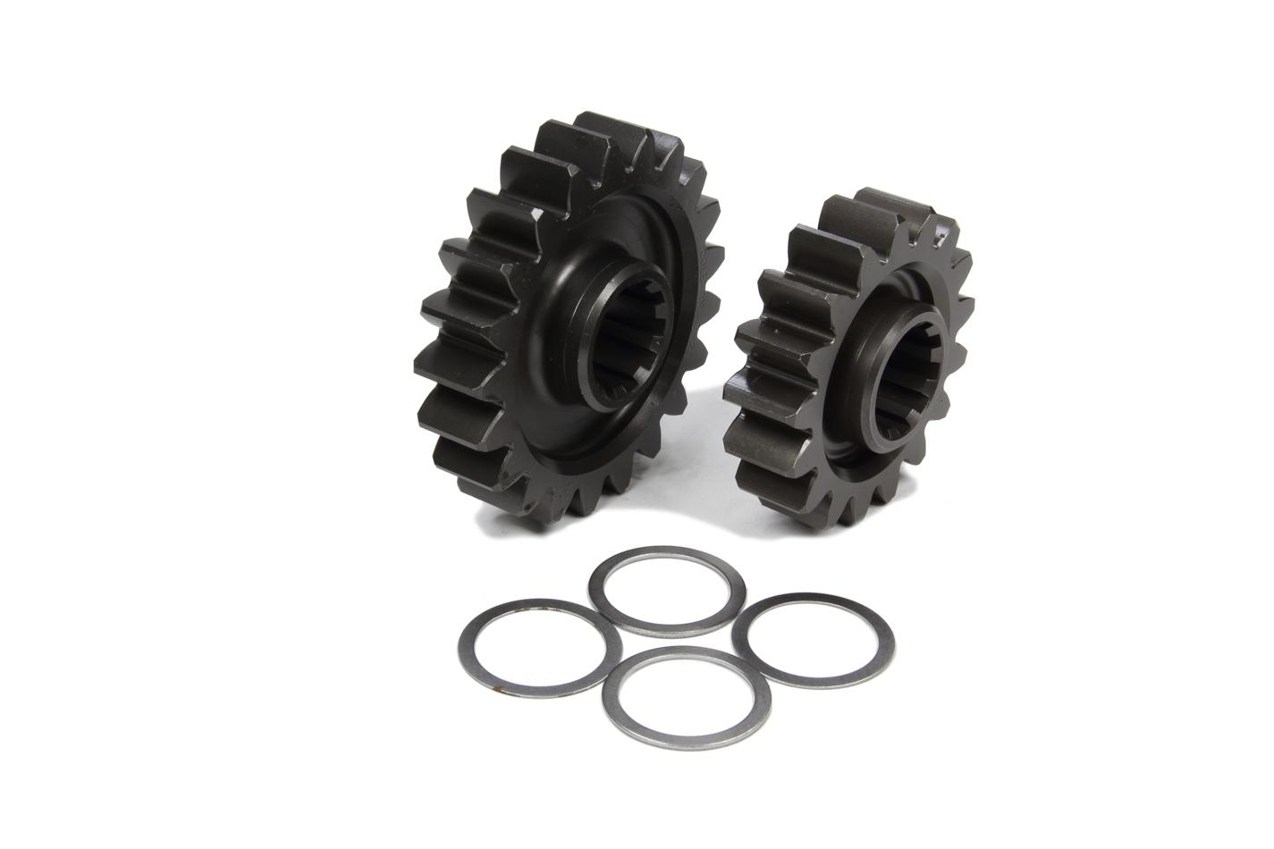 Coleman Machine 207-3 Quick Change Gear Set, Pro-Lite, Set 3, 10 Spline, 4.11 Ratio 5.08 / 3.32, 4.86 Ratio 6.00 / 3.93, Steel, Each