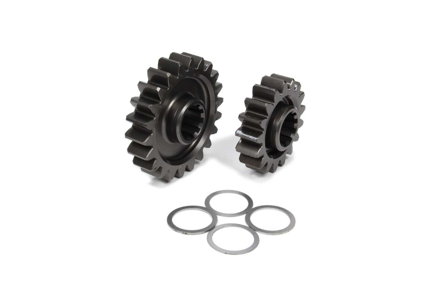 Coleman Machine 207-4 Quick Change Gear Set, Pro-Lite, Set 4, 10 Spline, 4.11 Ratios 5.32 / 3.18, 4.86 Ratios 6.29 / 3.75, Steel, Each