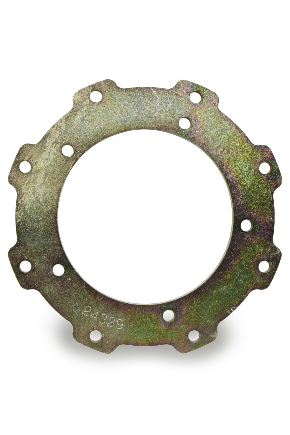 Coleman Machine 24329 Rotor Ring, 5 x 5.5 in to 8 x 7.000 in Rotor Bolt Pattern, Steel, Cadmium, Each