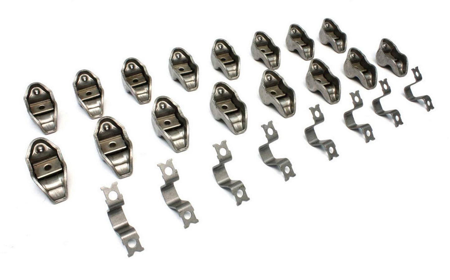 Comp Cams 1210-16 Rocker Arm, High Energy, Pedestal Mount, 1.60 Ratio, Steel, AMC V8, Set of 16