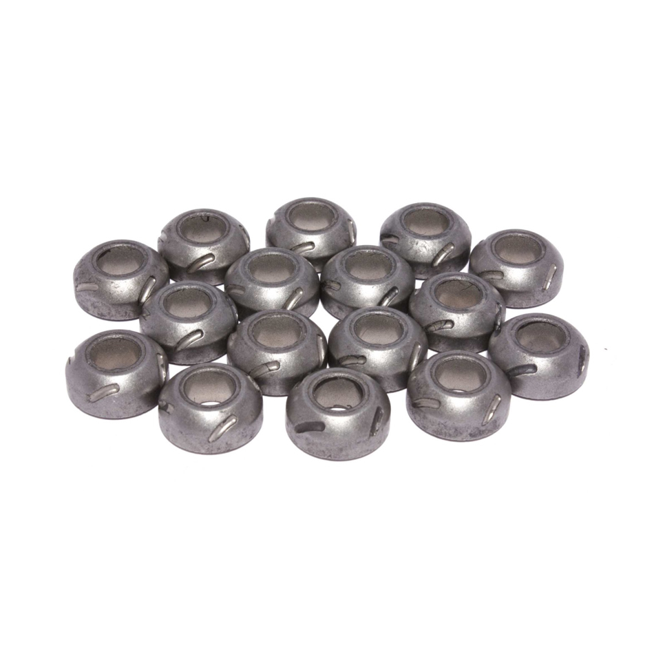 Comp Cams 1400B-16 Rocker Arm Pivot Ball, Magnum, 3/8 in Stud Mount, Grooved, Steel, Set of 16