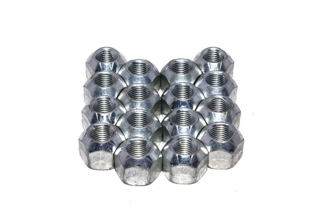 Comp Cams 1400N-16 Rocker Arm Nut, Magnum, 3/8-24 in Thread, Steel, Zinc Oxide, Set of 16