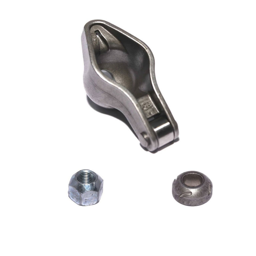 Comp Cams 1411-1 Rocker Arm, Magnum, 7/16 in Stud Mount, 1.72 Ratio, Roller Tip, Chromoly, Big Block Chevy, Each