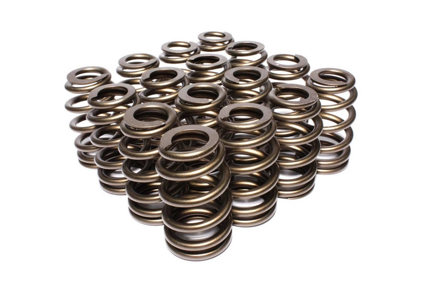 Comp Cams 26055-16 Valve Spring, Race Sportsman, Beehive Spring, 400 lb/in Spring Rate, 1.225 in Coil Bind, 1.585 in OD, Set of 16