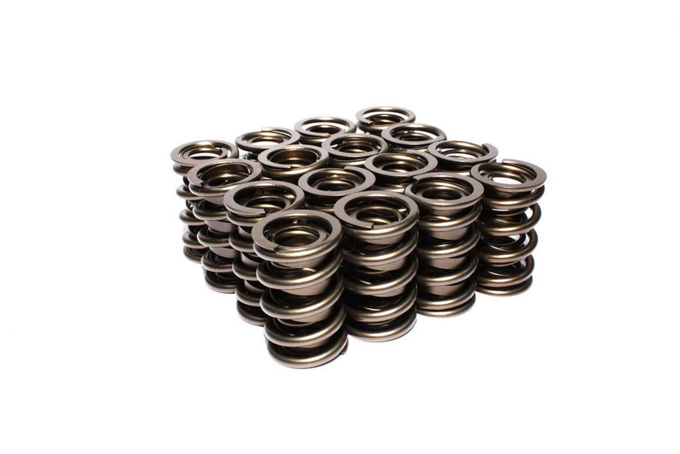 Comp Cams 26094-16 Valve Spring, Race Endurance, Dual Spring / Damper, 449 lb/in Spring Rate, 1.200 in Coil Bind, 1.550 in OD, Set of 16