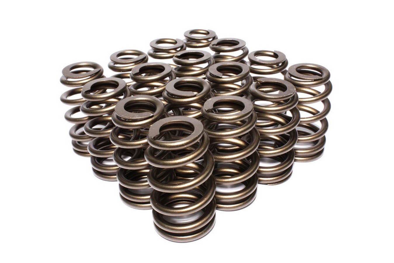 Comp Cams 26095-16 Valve Spring, Race Street, Beehive Spring, 300 lb/in Spring Rate, 1.130 in Coil Bind, 1.590 in OD, Set of 16