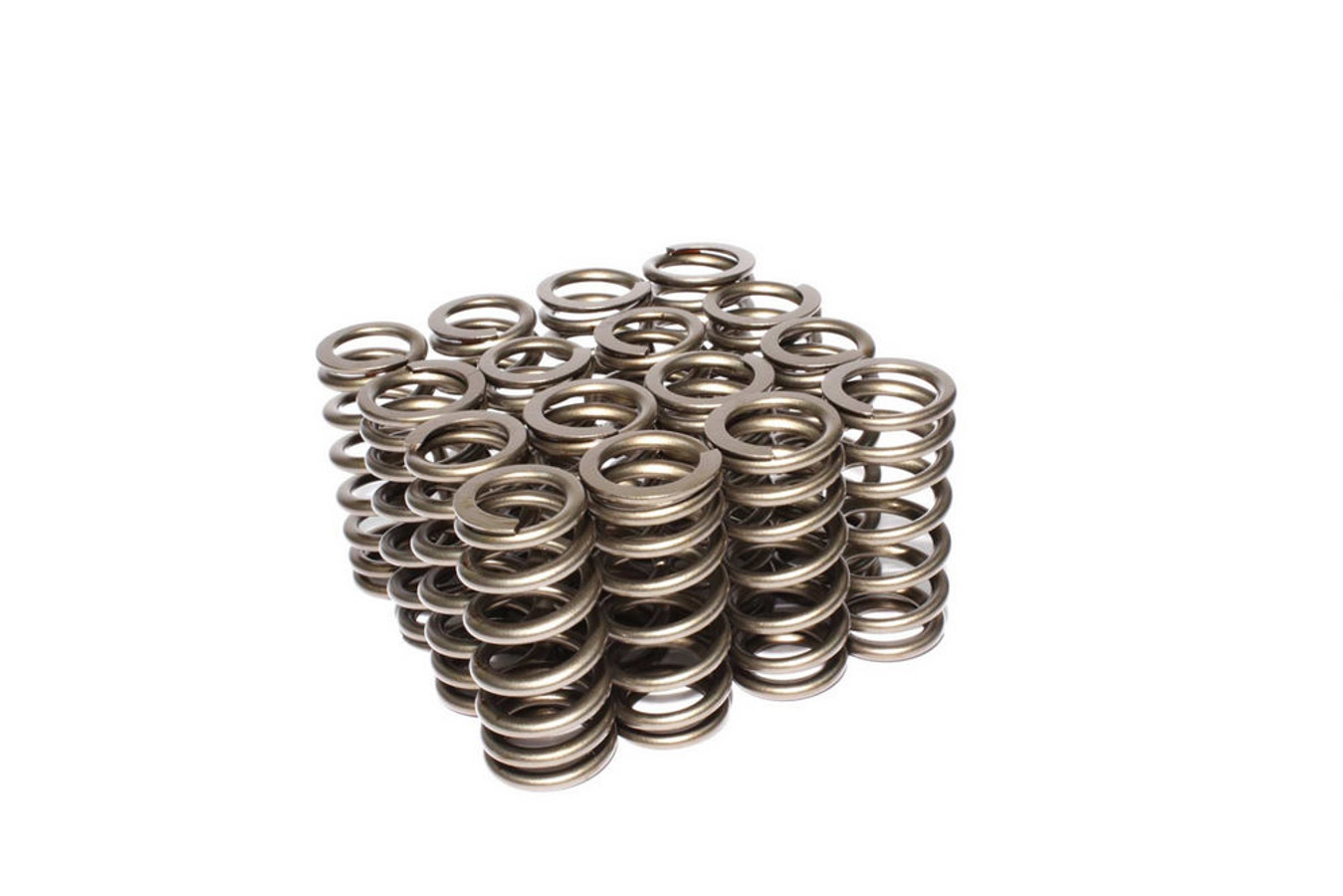 Comp Cams 26113-16 Valve Spring, Performance Street, Beehive Spring, 191 lb/in Spring Rate, 0.952 in Coil Bind, 1.061 in OD, Set of 16