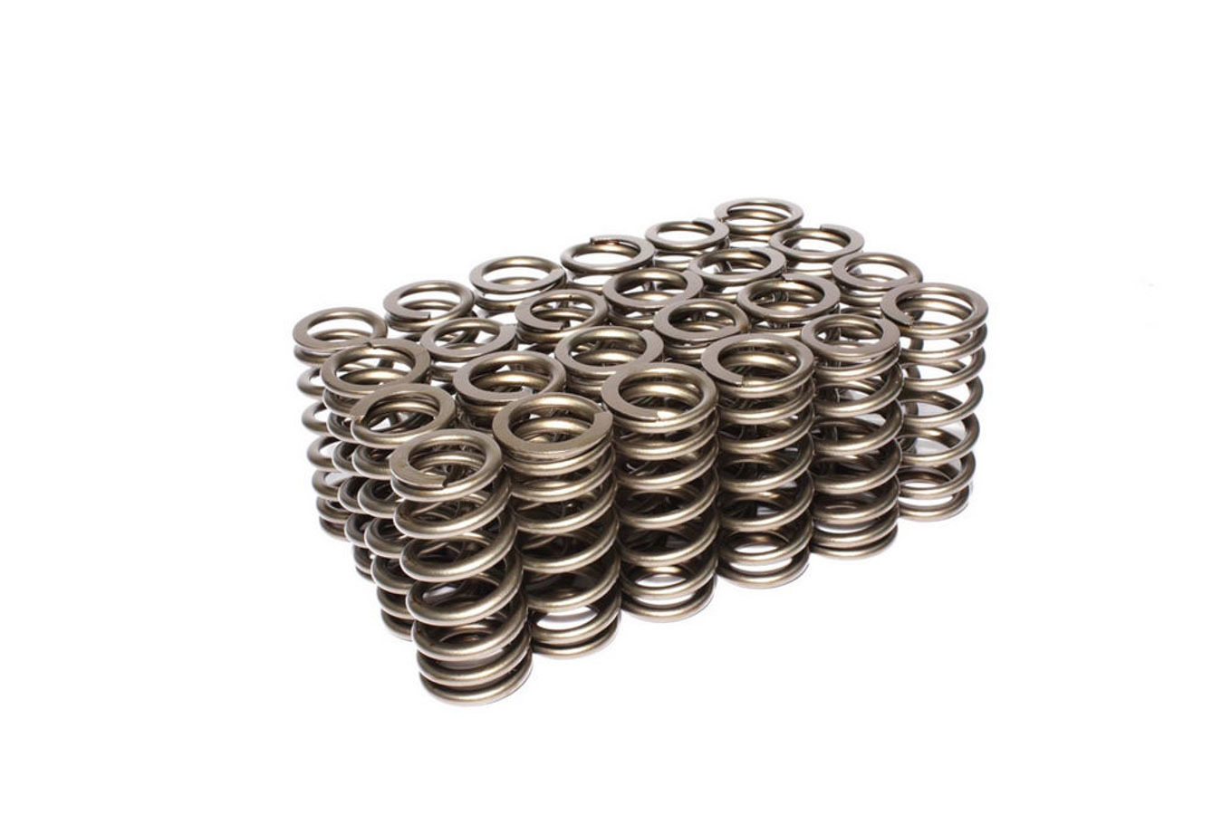 Comp Cams 26113-24 Valve Spring, Performance Street, Beehive Spring, 191 lb/in Spring Rate, 0.952 in Coil Bind, 1.061 in OD, Set of 24