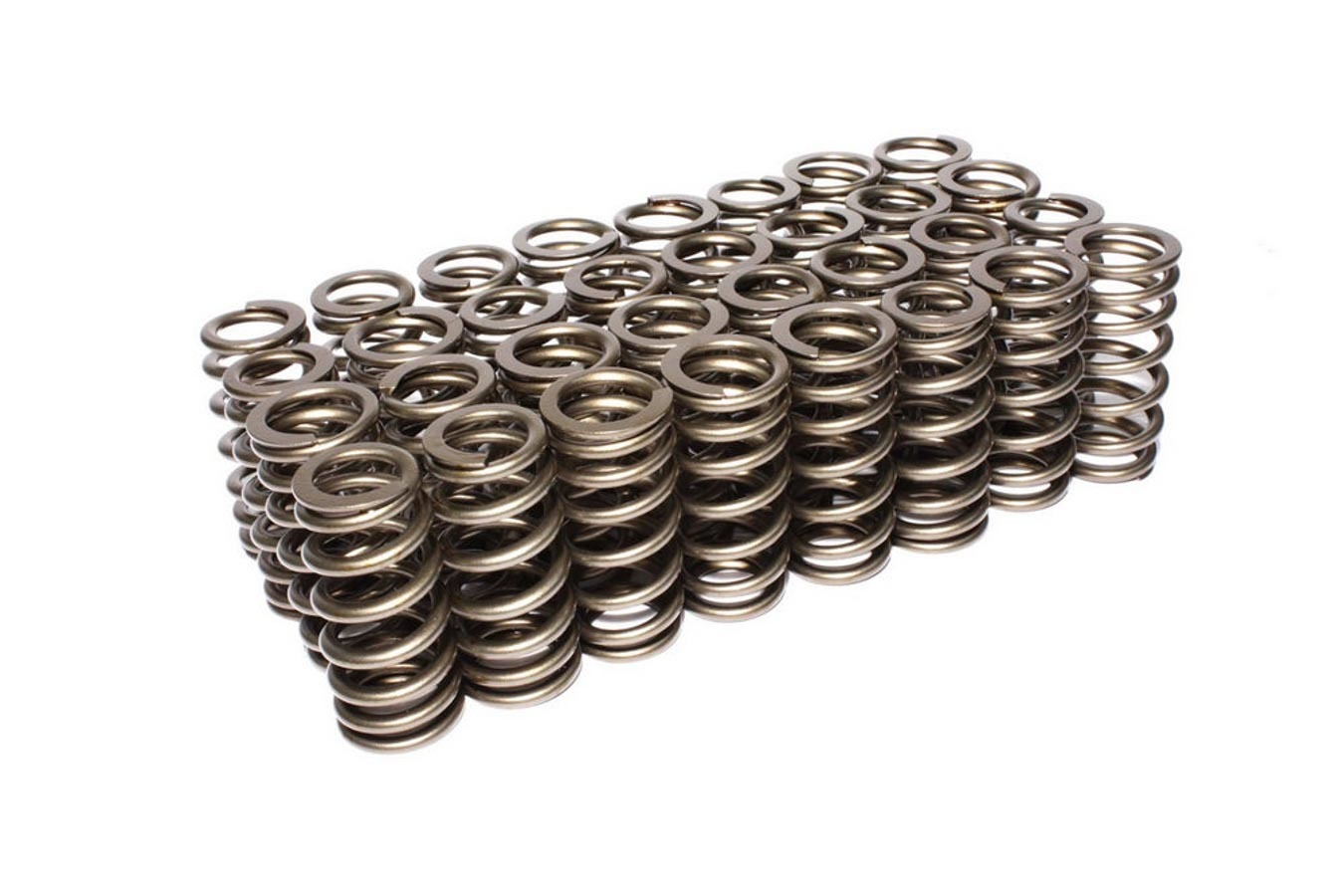 Comp Cams 26123-32 Valve Spring, Performance Street, Beehive Spring, 324 lb/in Spring Rate, 0.900 in Coil Bind, 1.105 in OD, Set of 32