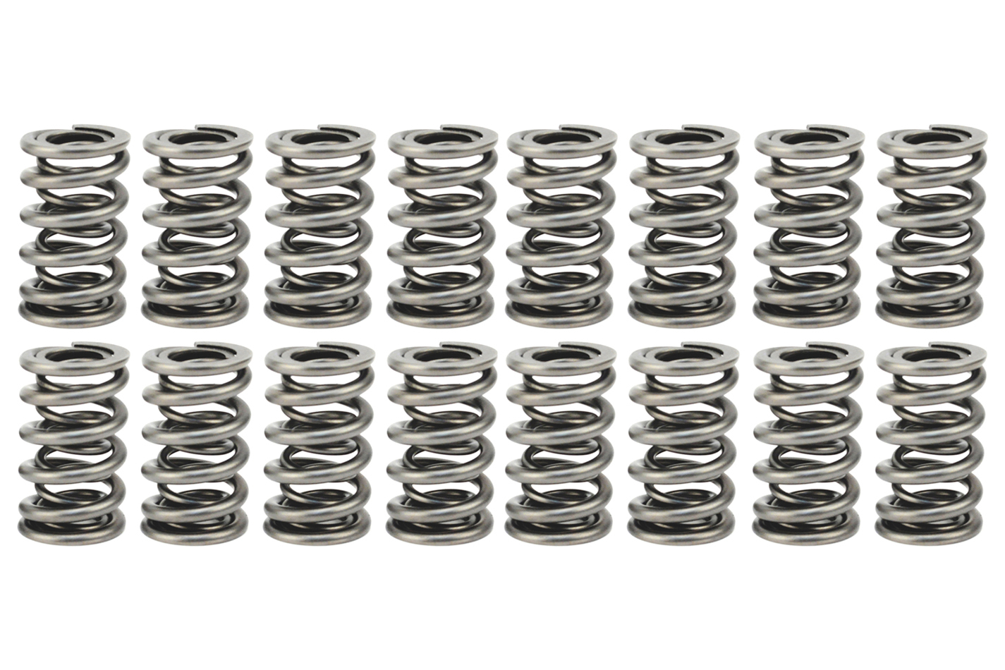 Comp Cams 26547-16 Valve Spring, Dual Spring, 583 lb/in Spring Rate, 1.190 in Coil Bind, 1.550 in OD, Set of 16