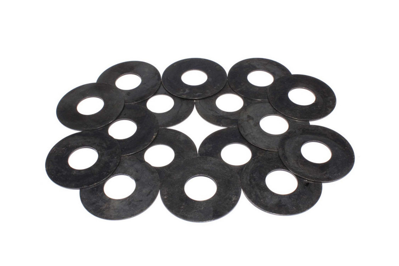 Comp Cams 4749-16 Valve Spring Shim, 0.060 in Thick, 1.437 in OD, Steel, Set of 16