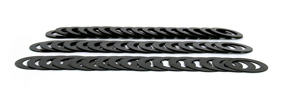 Comp Cams 4753 Valve Spring Shim Kit, 0.015 / 0.030 / 0.060 in Thick, 1.250 in OD, Steel, Kit