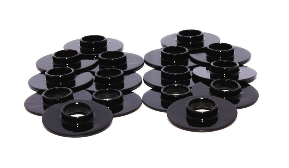 Comp Cams 4772-16 Valve Spring Locator, Inside, 0.060 in Thick, 1.550 in OD, 0.570 in ID, 0.750 in Spring ID, Steel, Set of 16