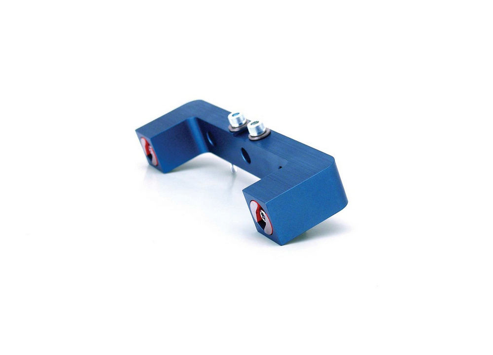 Comp Cams 4900 Magnetic Deck Checker, Dial Indicator Mount, Aluminum, Blue Anodized, Each