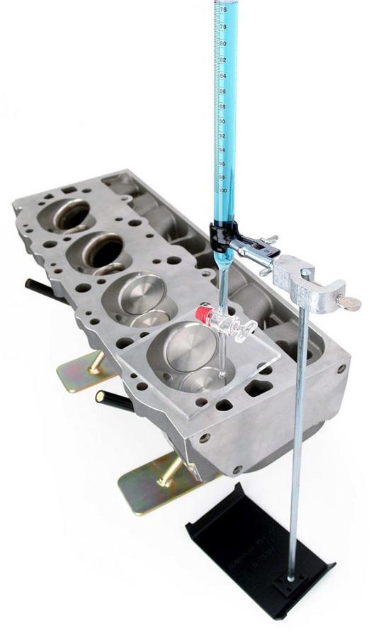 Comp Cams 4974 Cylinder Head CC Kit, Pro Series, 100 cc Volume, Glass Burette, 0.2 cc Scale, Polycarbonate Plate, Kit