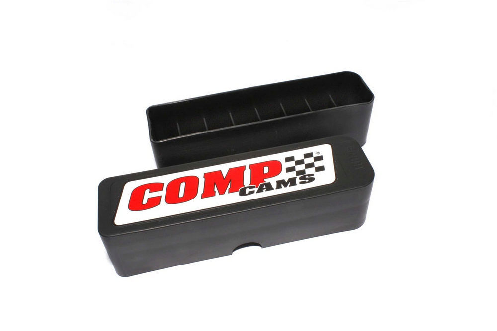 Comp Cams 5305 Lifter Storage Case, 8-9/16 x 2-7/16 x 2-1/4 in Tall, Plastic, Black, Each