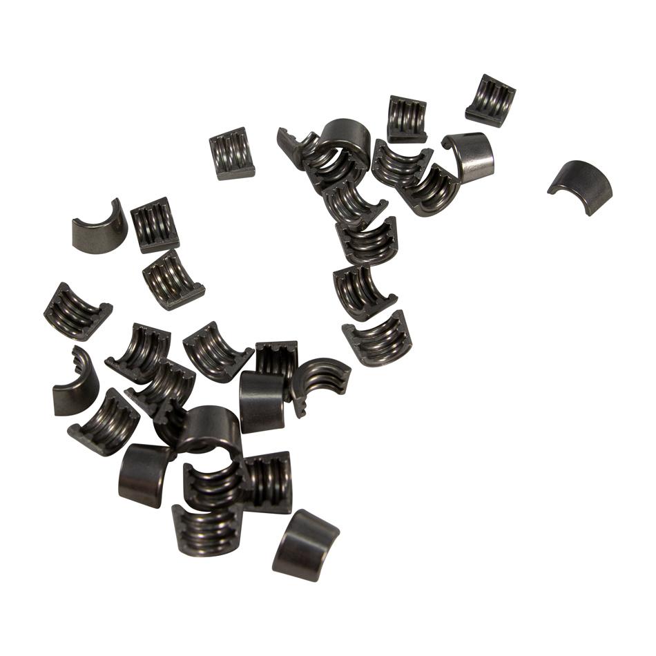 Comp Cams 607-16 Valve Lock, Super Locks, 10 Degree, 8 mm Valve Stem, Steel, Natural, Mopar Gen III Hemi, Set of 16
