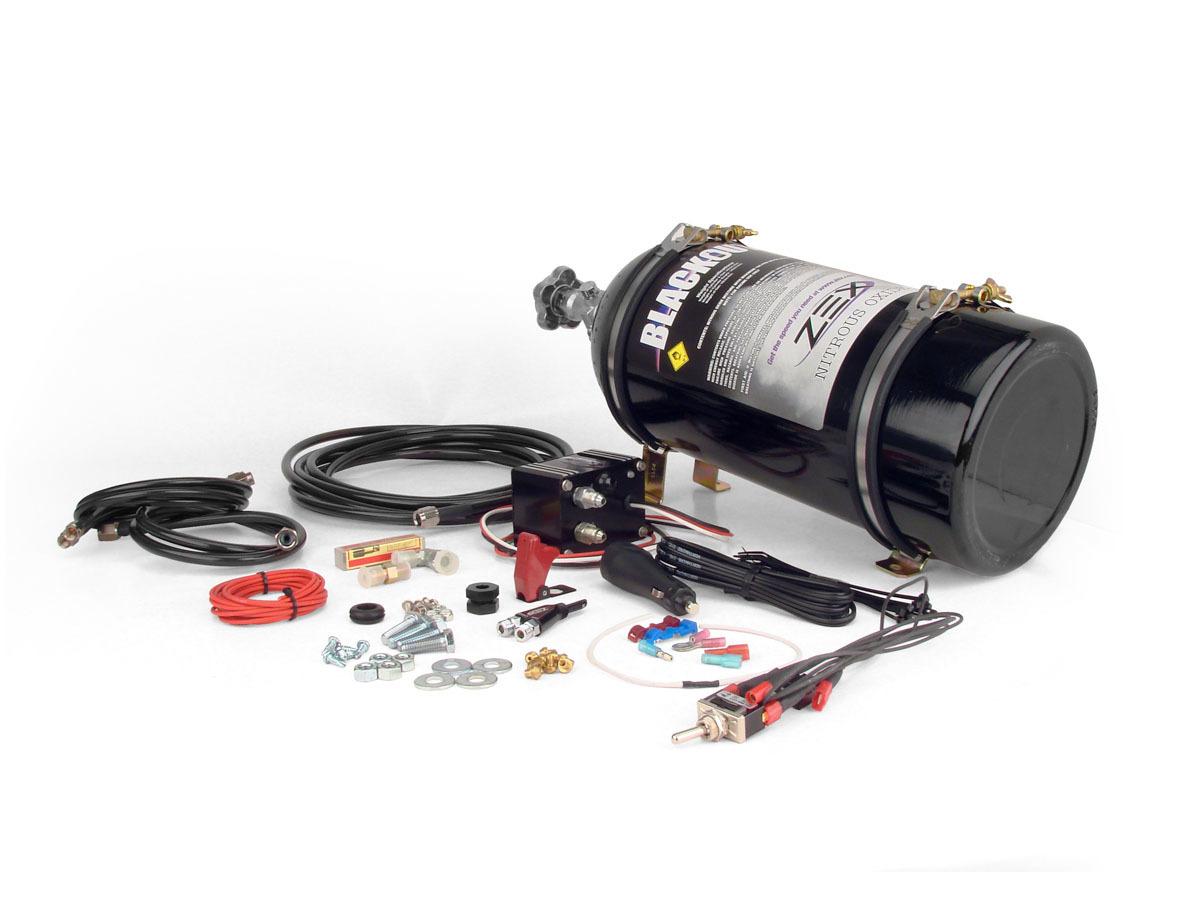 Zex Nitrous System - 2010 V8 Camaro - Black
