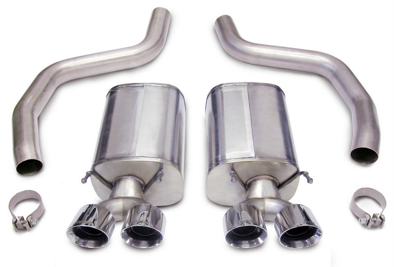 05-10 Corvette 7.0L Trck Axle Back Exhaust System
