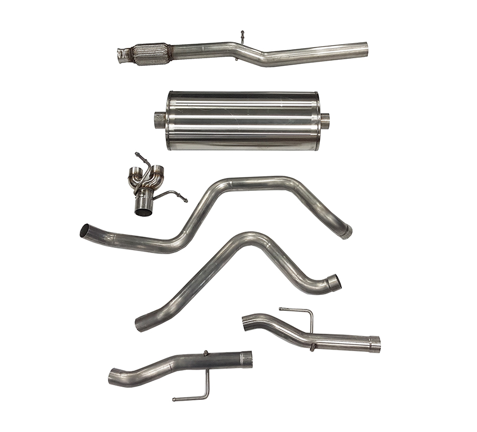 19-   GM P/U 1500 5.3L Cat Back Exhaust System