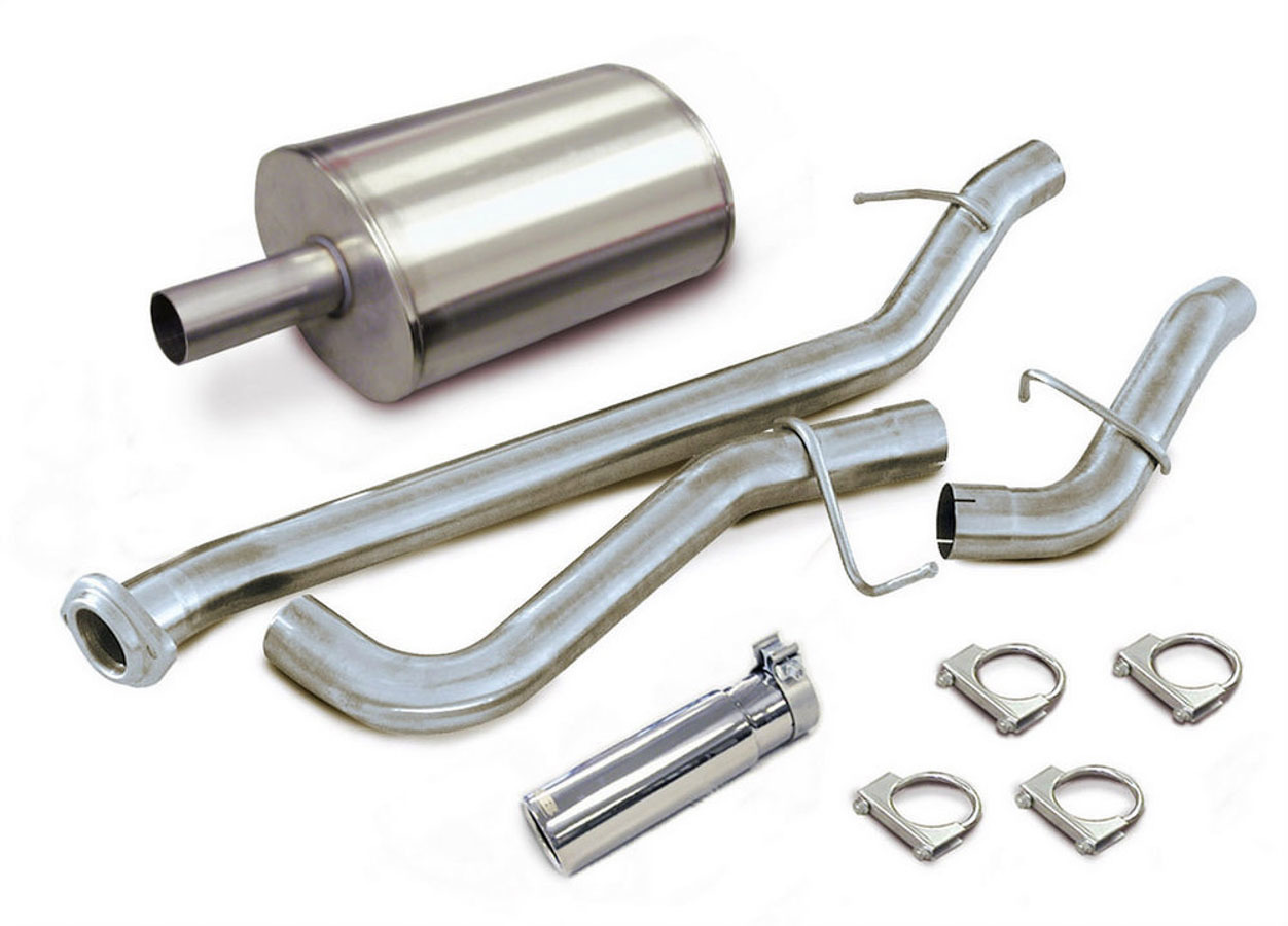 02-06 GM P/U 4.8/5.3L Cat Back Exhaust