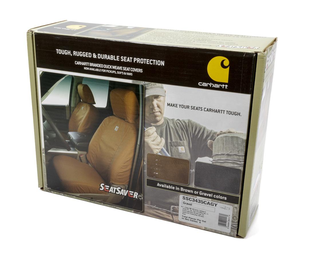 Carhartt Seat Saver Gray Front 13-16 Dodge Ram