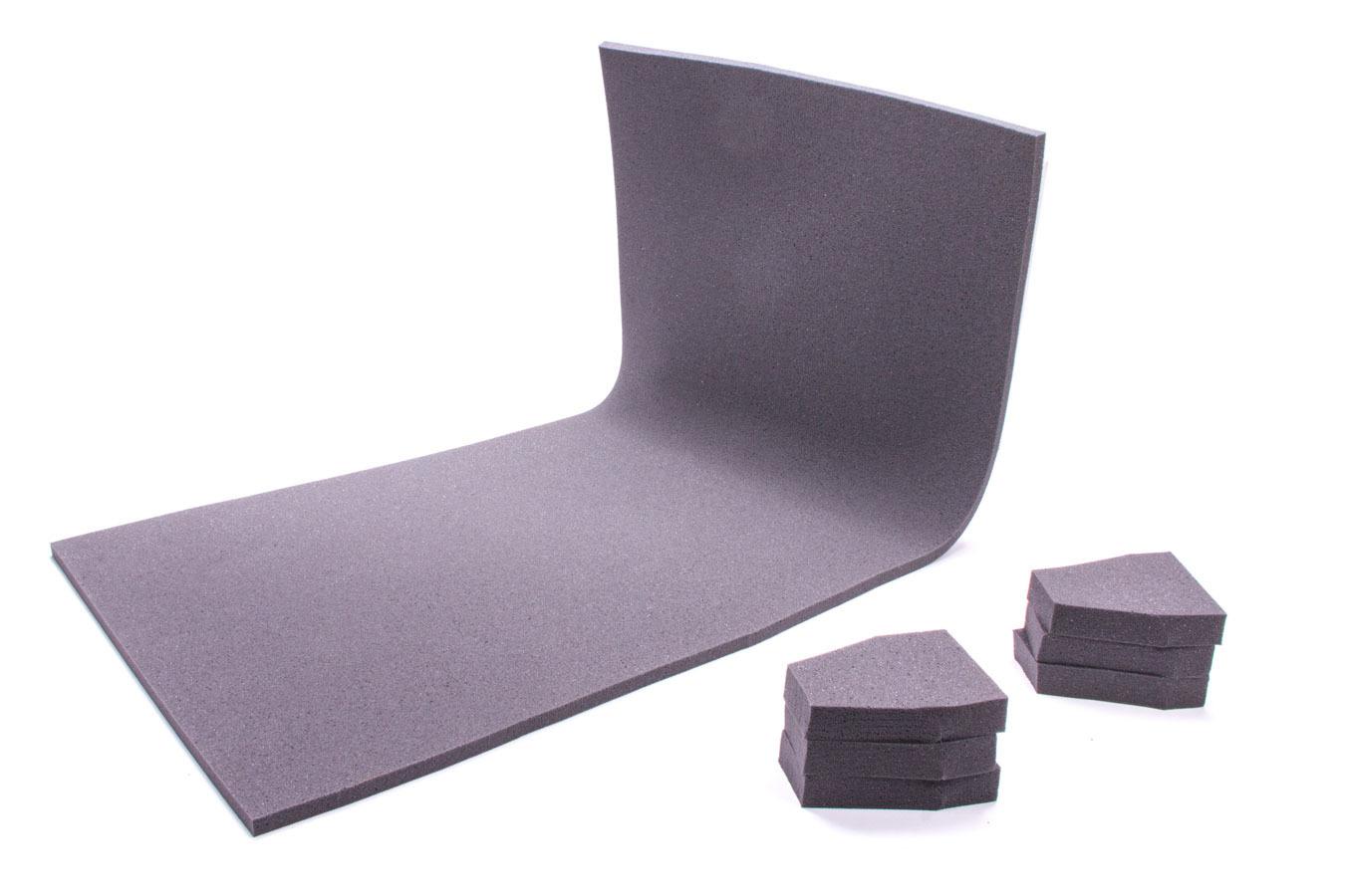 The Crash Pad 401805-812SAM Sheet Padding, 812 SAM, 40 x 18 x 1/2 in Thick, Gray, Each