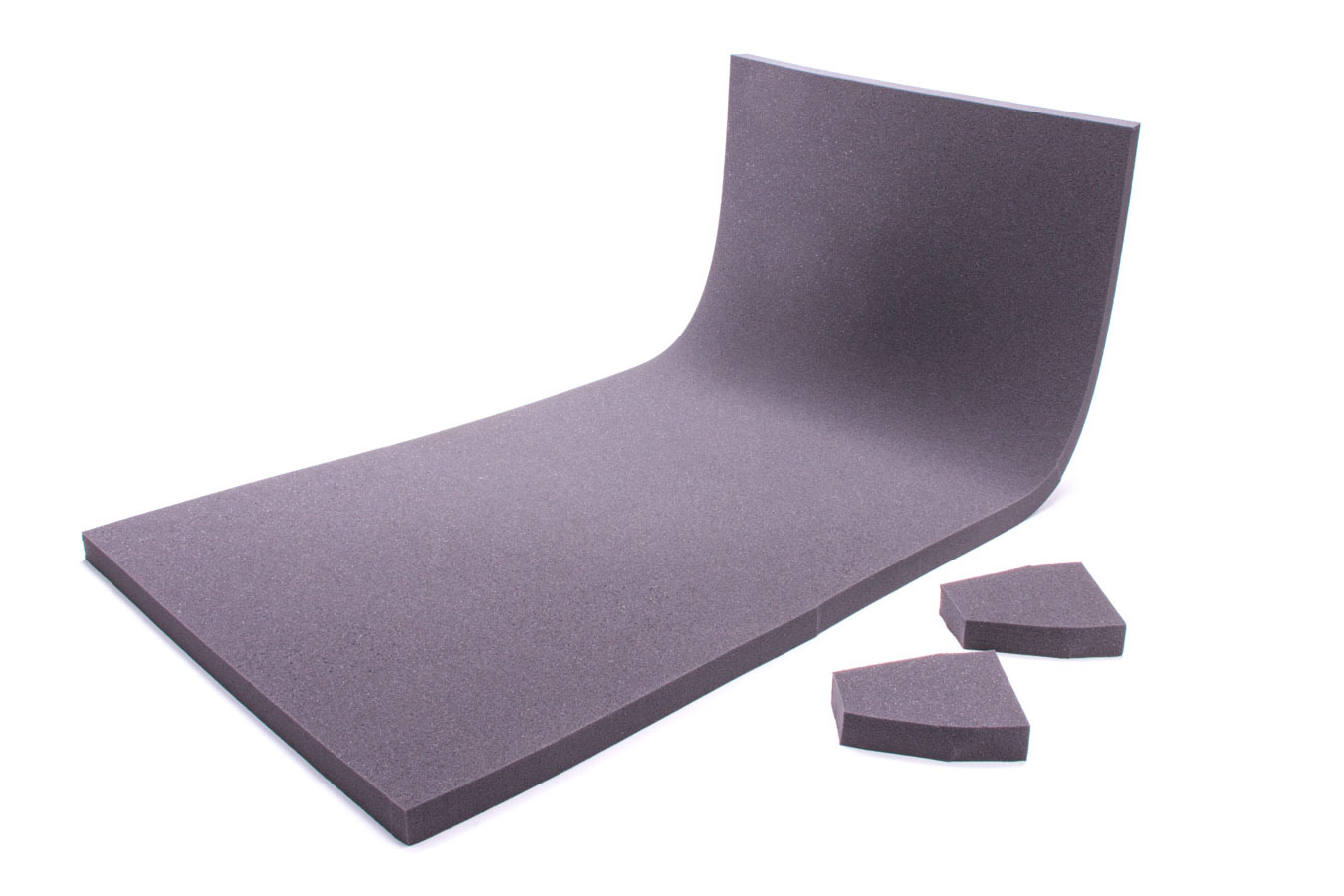 The Crash Pad 401810-812SAM Sheet Padding, 812 SAM, 40 x 18 x 1 in Thick, Gray, Each