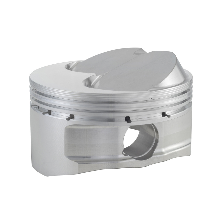 CP Pistons S1343-8 Piston, 360 Sprint ASCS Head, Forged, 4.040 in Bore, 1.5 x 1.5 x 3.0 mm Ring Grooves, Plus 12.5 cc, Small Block Chevy, Set of 8