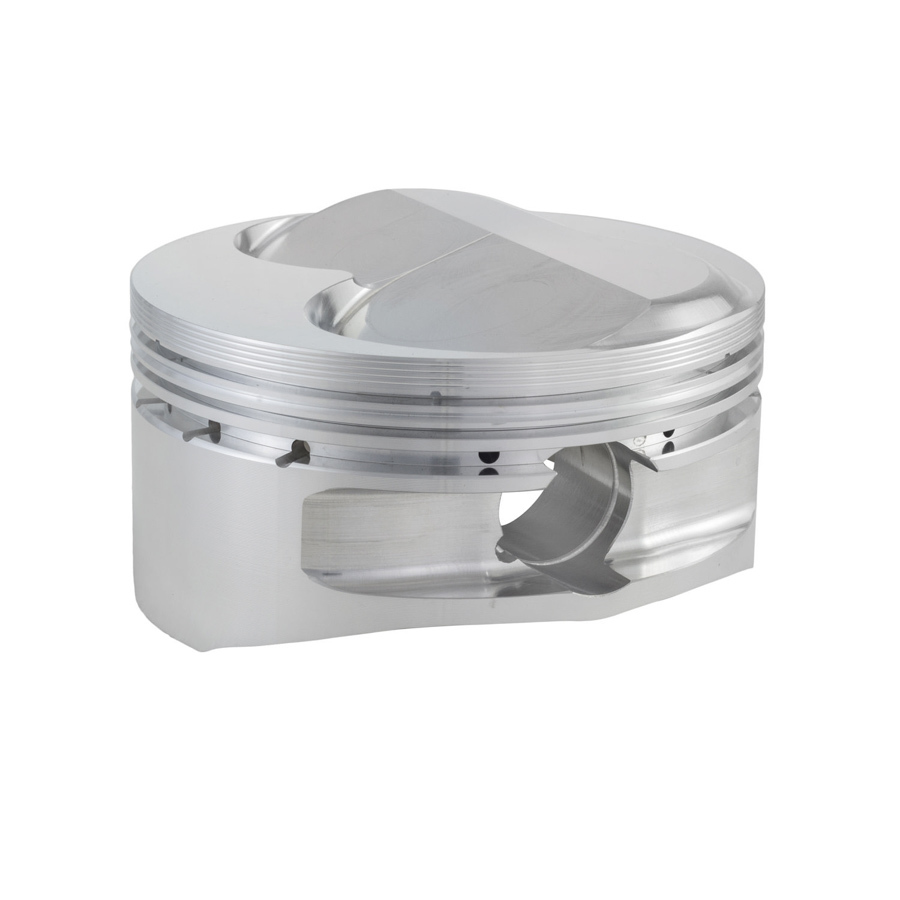 CP Pistons S2155-8 Piston, 18 Degree Dome 400, Forged, 4.165 in Bore, 1.5 x 1.5 x 3.0 mm Ring Grooves, Plus 2.5 cc, Small Block Chevy, Set of 8